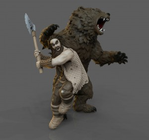 Bronn the Wild and Grond, the Great Bear