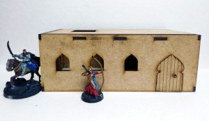 Desert City – Medium Desert Hut (28mm)